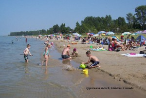 Ipperwash beach. (Postmedia Network file photo)