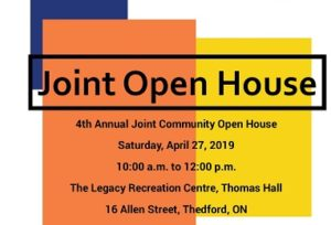 Joint Community Open House @ Legacy Recreation Centre